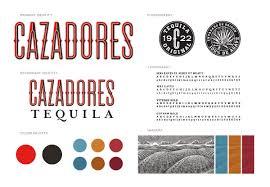 cazadores logo cazadores 墨西哥龙舌兰酒品牌包装设计 古田路9号 品牌创意 版权保护平台