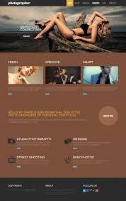 free photographer responsive drupal template