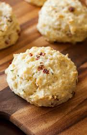 asiago sun dried tomato biscuits with basil butter