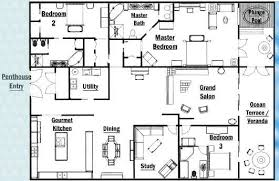 trendy idea 3000 square foot home floor plans 6 country style