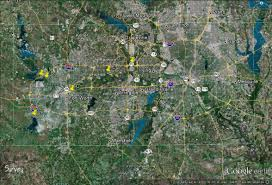 Dallas Fort Worth Area Map by Dallas Ft Worth Dfw Area Site Possibilities Texas The