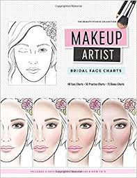 makeup artist books makeup artist bridal charts the beauty studio collection