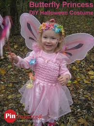 Ariel Halloween Costume Kids Butterfly Princess Diy Halloween Costume Toddlers U2013 Pin Inspired