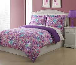 Paisley Comforters Butterfly Kids Bedding Purple Paisley Comforter Set Full