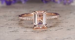 gold and morganite ring blushing for morganite engagement rings think pink
