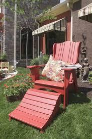 vinyl adirondack chairs patio seating ideas
