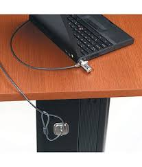 Lock Laptop To Desk by Iconnect World Security Cable For Notebook Laptop Lock With