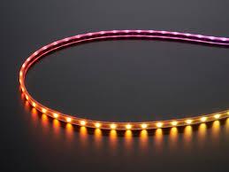 mini led light strips adafruit mini skinny neopixel digital rgb led strip 60 led m
