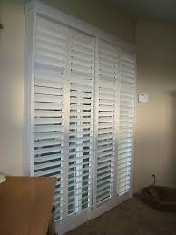 Plantation Shutters For Patio Doors 195 Best Window Treatment Shutters Images On Pinterest Window