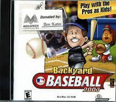 backyard baseball video game design ideas home design