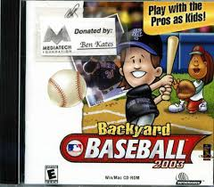 backyard baseball video game home design