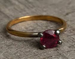 small ruby rings images Tiny ruby solitaire ring dainty delicate simple ruby ring jpg
