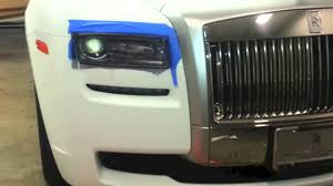 wrapped rolls royce 2013 rolls royce ghost wrapped in ultra matte laminated white by