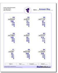 division with multi digit divisors