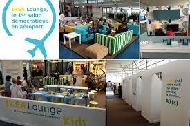 ikea lounge at the paris international airport dzine trip