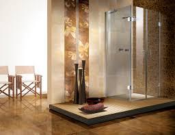 black stone pebble floor ornament stone tile bathrooms varnished