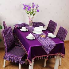 purple dining room chair slipcovers with tablecloth wonderful