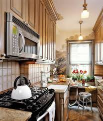 small kitchen design layout with awesome wall and backsplash and