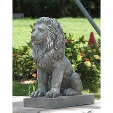lions statues for sale large outdoor lion statues wayfair