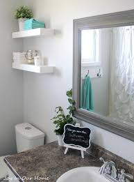 Idea For Small Bathrooms 80 Ways To Decorate A Small Bathroom Shutterfly
