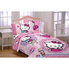 dorm bedding for girls bedroom hello kitty queen comforter set hello kitty bedspread
