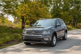 volkswagen atlas sel interior 2018 volkswagen atlas our review cars com