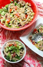 Pasta Salad Recipes With Italian Dressing Summer Veggie Pasta Salad