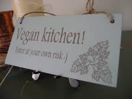 vegan home decor kitchen sign vegan kitchen sign vegetarian sign vegan home