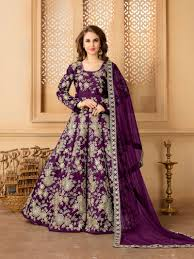cocktail party attire bollywood style anarkali buy online germany long purple anarkali