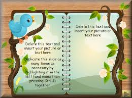 storybook template storybook template powerpoint story writing