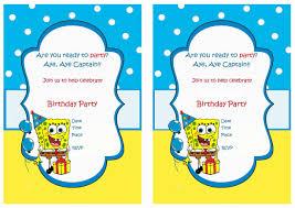 spongebob u2013 birthday printable