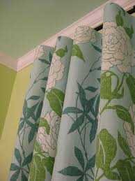 Hanging Rod Pocket Curtains With Rings How To Make No Sew Curtains And Make A Window Look Way Bigger