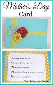 mother u0027s day cards u0026 acrostic poems the resourceful mama