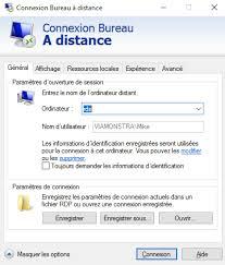 raccourci connexion bureau à distance supprimer mot de passe mis en cache client bureau à distance