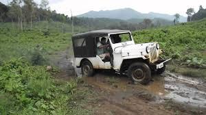police jeep kerala chembanaruvi jeep drive youtube
