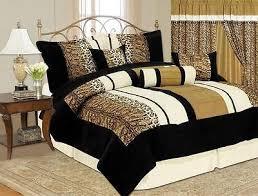 Fur Bed Set Safari Bedding Collection On Ebay