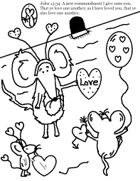 valentine u0027s coloring pages sunday