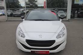 peugeot approved cars used 2014 peugeot rcz 2 0 hdi 163 magnetic for sale in aberdeen