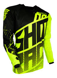 neon motocross gear shot race gear us venom kids jersey neon yellow english us