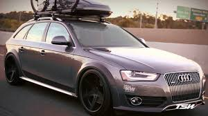 slammed audi wagon tsw alloy wheels audi allroad on tsw mirabeau youtube