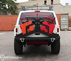jeep tire carrier jcroffroad adventure tire carrier rear bumper upper jeep