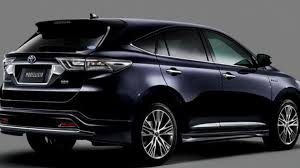 harrier lexus interior toyota harrier modellista u0026 harrier trd sportivo concept to debut
