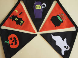halloween the witch u0027s cat handmade personalised bunting