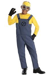 Construction Worker Costume Minion Dave Costume For Boys