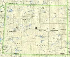 Sheridan Wyoming Map Wyoming Map Online Maps Of Wyoming State