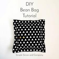 Patterns For A Baby Bean Bag Diy Bean Bag Tutorial Simple Simon And Company