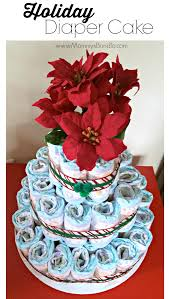 how to make a diaper cake for the holidays mommy u0027s bundle