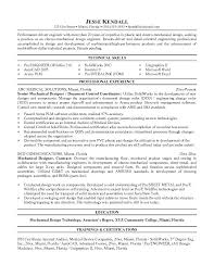 resume samples for design engineers mechanical good luck with the