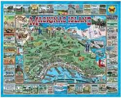 map of mackinac island mackinac on mackinac island