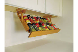 Cabinet Door Mounted Spice Rack Easier With Spice Storage Ideas Theringojets Storage